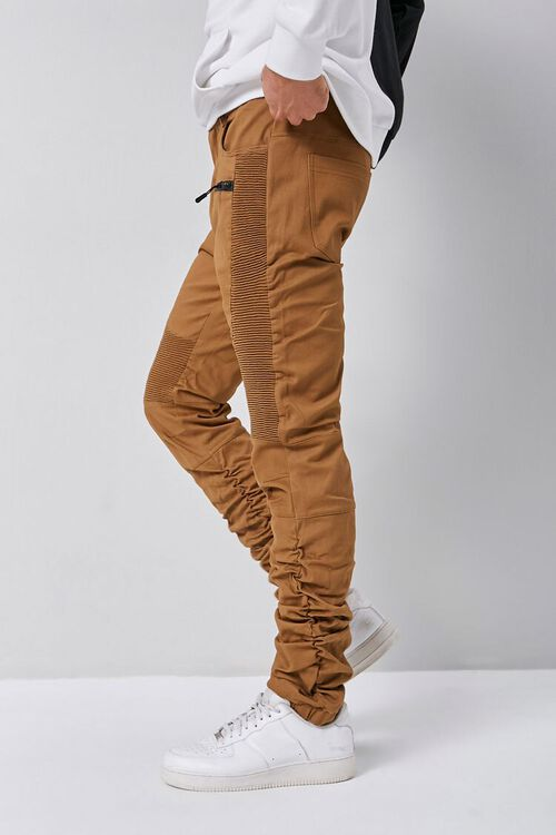 Ruched Moto Jeans, image 3