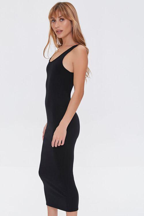 Ribbed Bodycon Midi Dress, image 2
