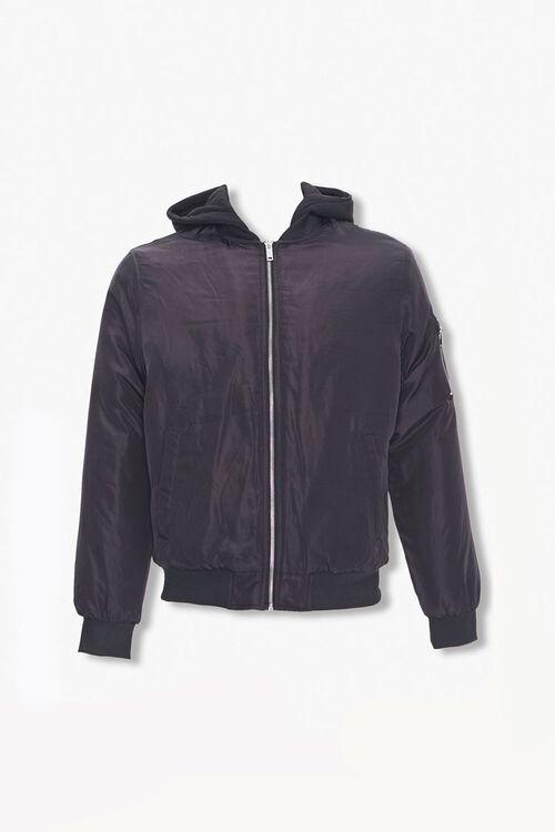 Hooded Bomber Jacket, image 1