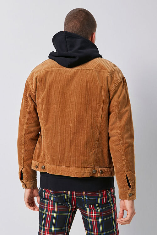 Corduroy Button-Front Jacket, image 3