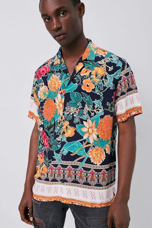 Tropical Print Cuban Shirt, image 2