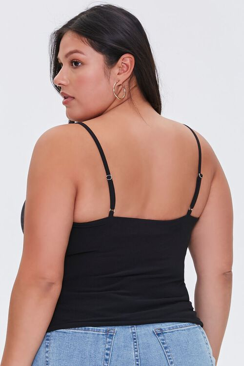 Plus Size Ruched Cami, image 3