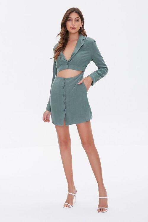 Cutout Blazer Mini Dress, image 4
