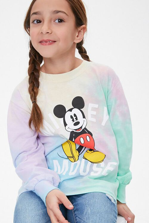 Girls Mickey Mouse Tee (Kids), image 1