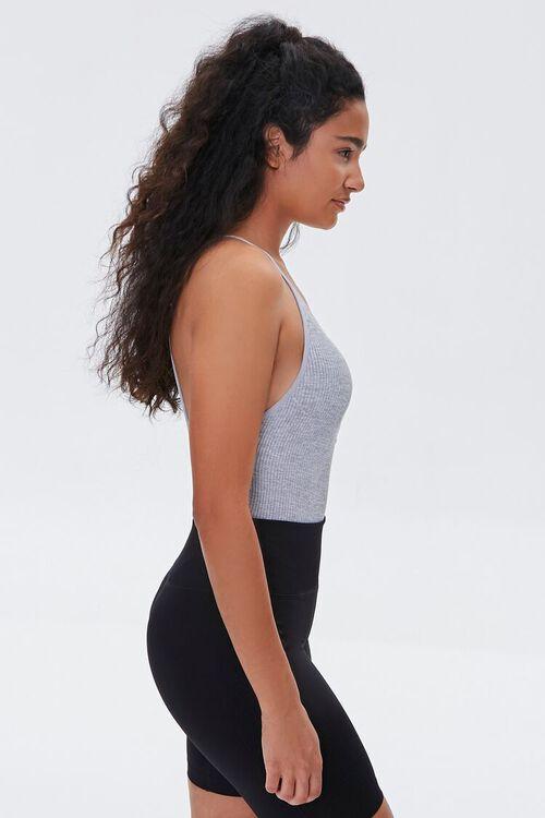 Seamless Zip-Front Bodysuit, image 2