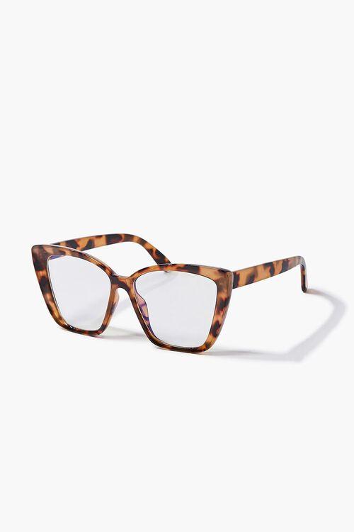 BROWN/CLEAR Blue Light Reader Glasses, image 2