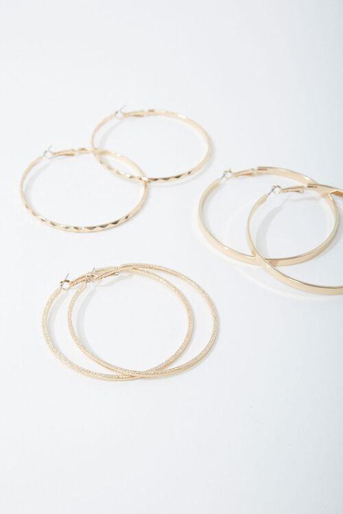 Assorted Hoop Earring Set, image 1