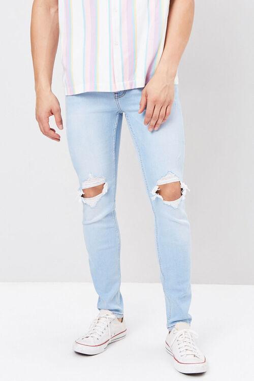 Distressed Paint Splatter Jeans, image 2
