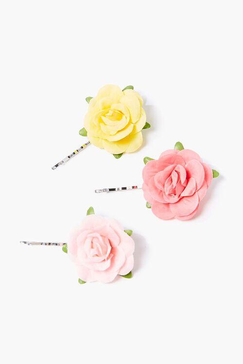Floral Bobby Pins Set, image 1