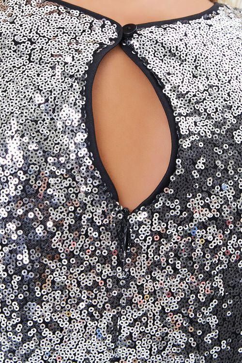 GUNMETAL Sequin Bodycon Mini Dress, image 5
