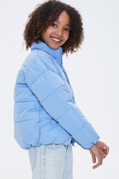 Girls Puffer Jacket (Kids), image 2
