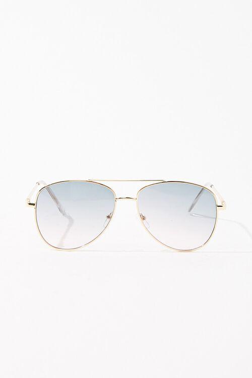 Gradient Aviator Sunglasses, image 1