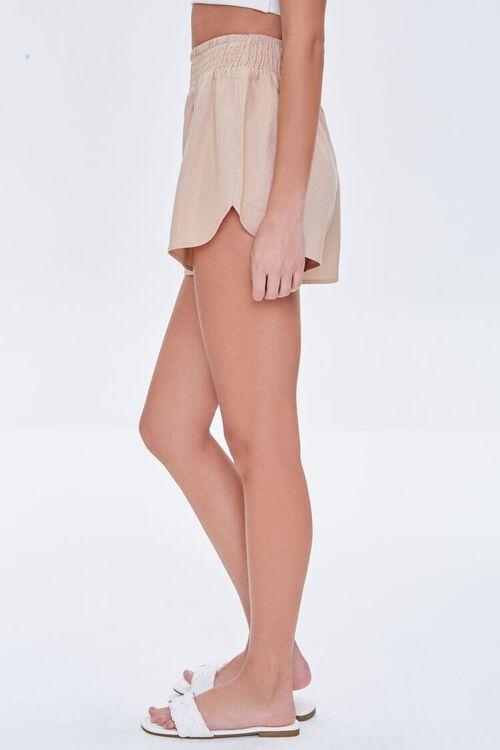 Smocked-Waist Shorts, image 3
