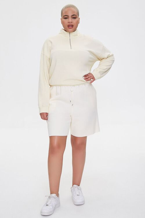 Plus Size Half-Zip Pullover, image 4