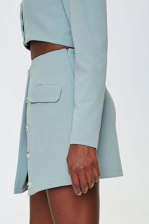 Button-Down Overlay Skirt, image 2