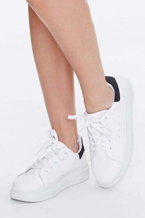 Lace-Up Platform Sneakers, image 1