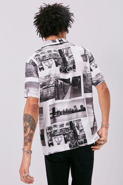 Classic Fit New York Print Shirt, image 3