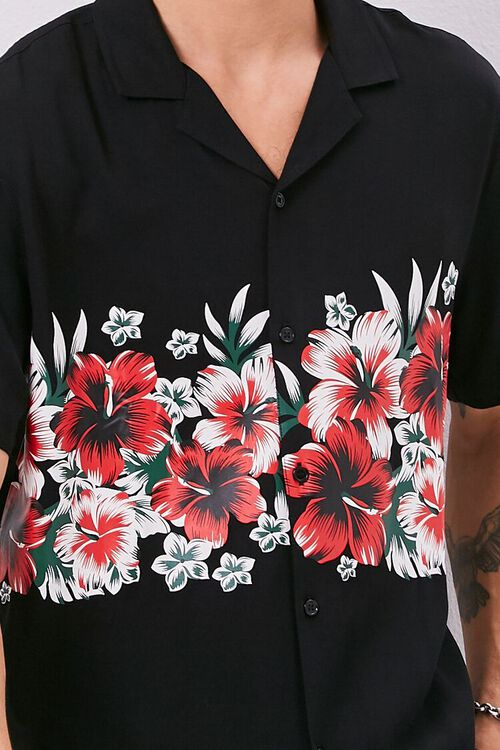 Classic Fit Tropical Graphic Shirt, image 5