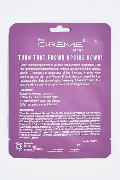 PURPLE Hydrogel Frown Line Patches, image 2