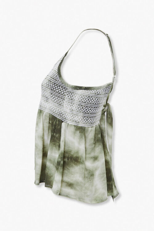 Tie-Dye Topstitched Cami, image 2