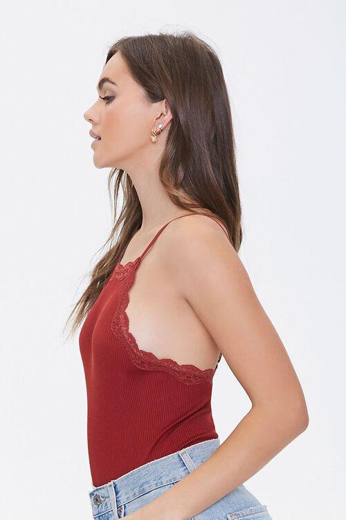 Scalloped Lace-Trim Bodysuit, image 2