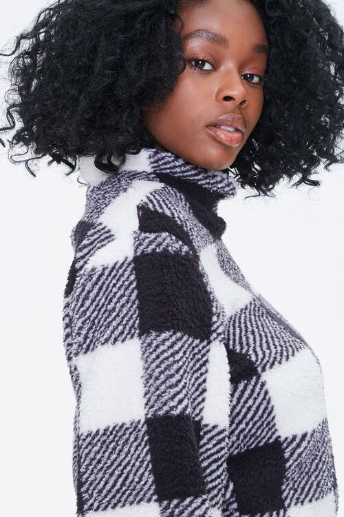 Buffalo Plaid Turtleneck Sweater, image 5