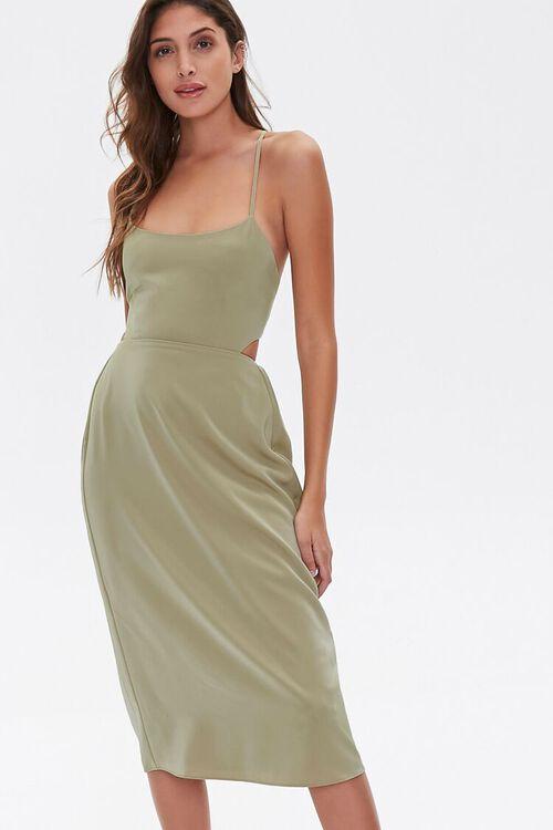 Crisscross Midi Dress, image 1