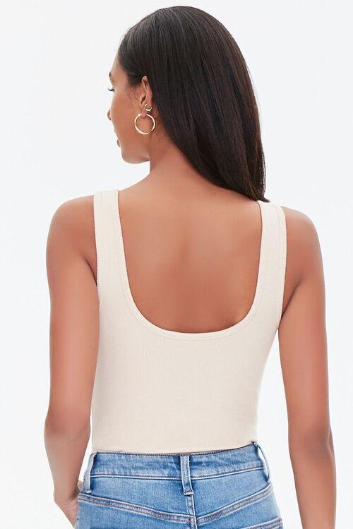 Ribbed Lace-Up Bodysuit, image 3