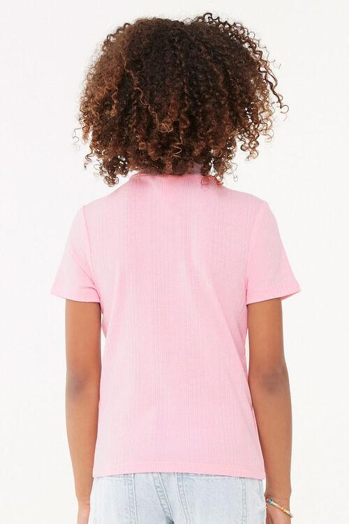 Girls Mock Neck Top (Kids), image 3
