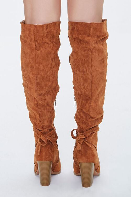 Slouchy Knee-High Bow Boots, image 3