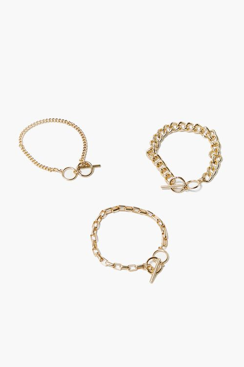 Toggle Chain Bracelet Set, image 1