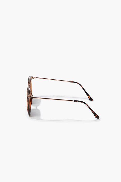 Tortoiseshell Round Sunglasses, image 5