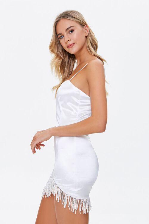 Faux Pearl Cami Mini Dress, image 2