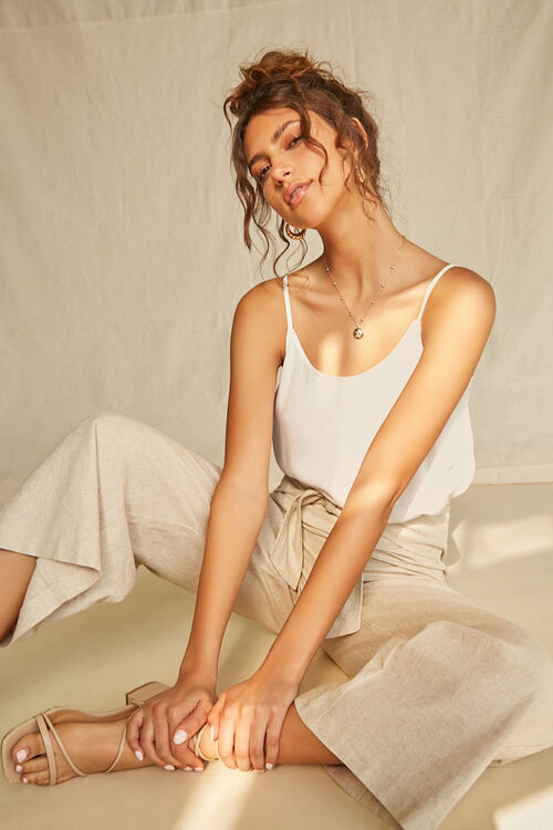 Relaxed Scoop-Cut Cami, image 1