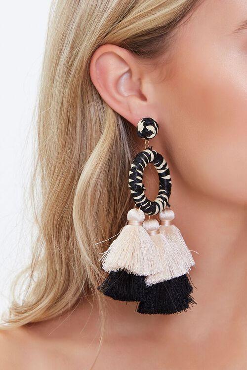 Tassel Ring Earrings, image 2