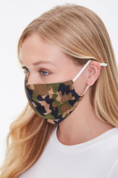 Camo Print Face Mask, image 2