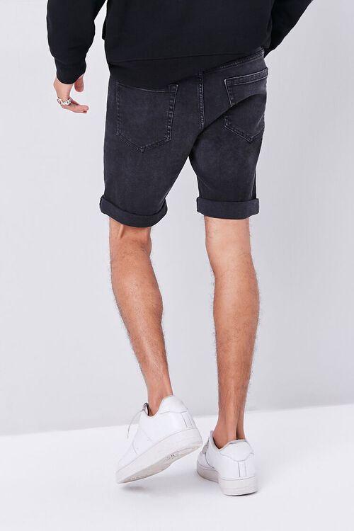 Distressed Acid Wash Shorts, image 4