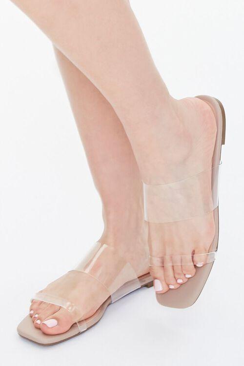 Transparent-Strap Sandals, image 1