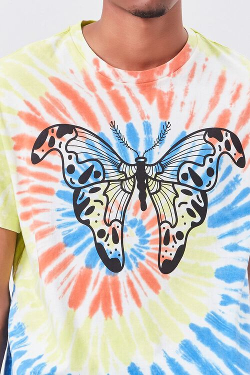 Butterfly Graphic Tie-Dye Tee, image 5