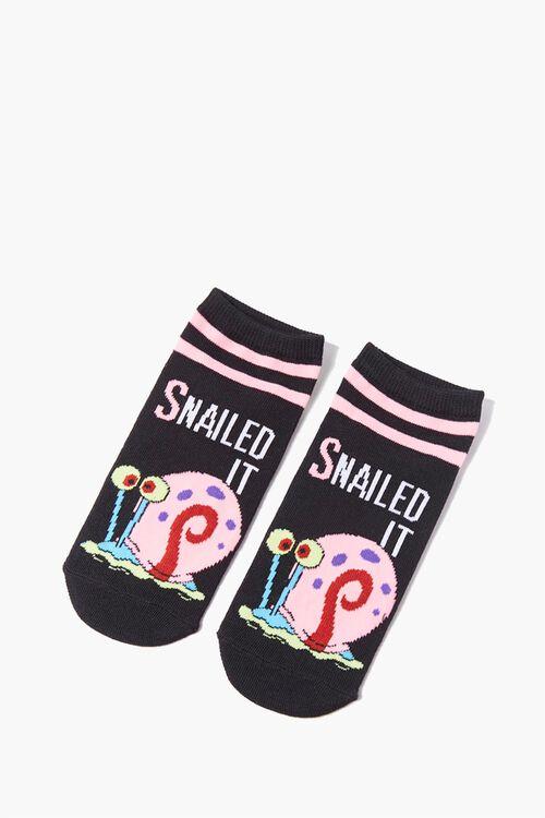 SpongeBob SquarePants Graphic Ankle Socks, image 2