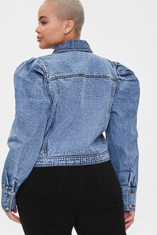 Plus Size Puff-Sleeve Jacket, image 3