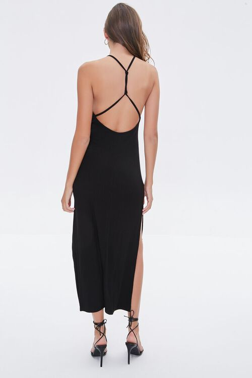 Strappy Open-Back Maxi Dress, image 3