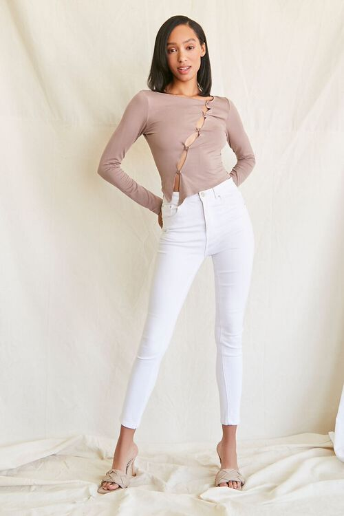 Asymmetrical Buttoned Top, image 4