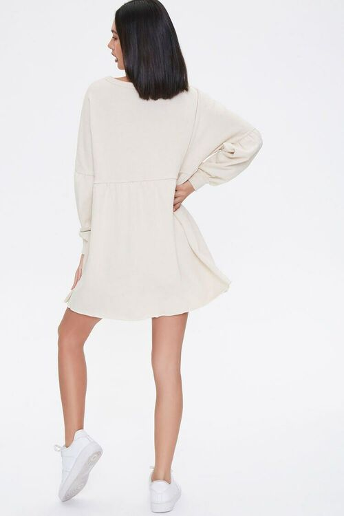 Drop-Sleeve Mini Dress, image 3