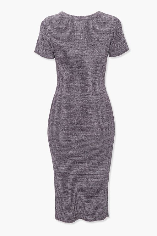 Heathered Bodycon Dress, image 2