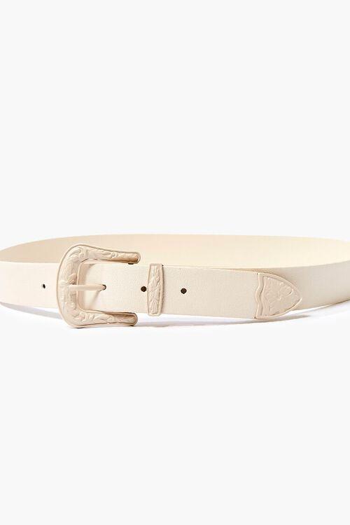 Embossed Buckle Hip Belt, image 3
