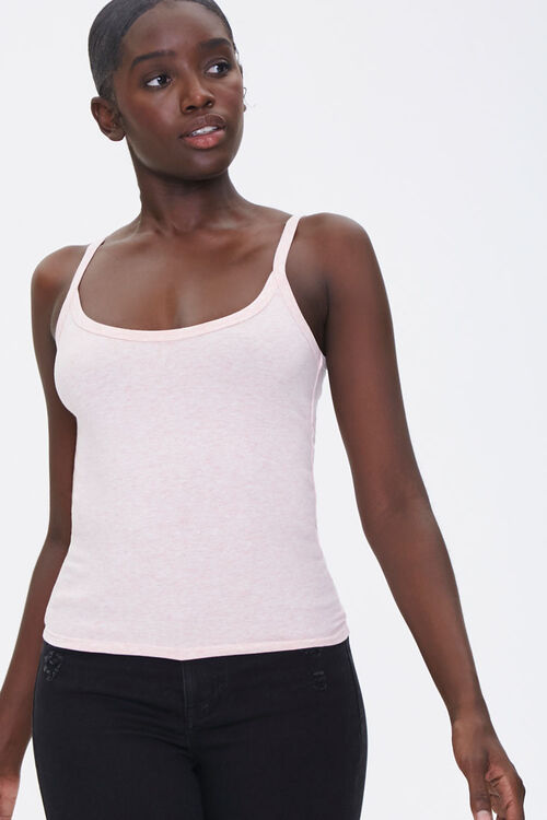 Basic Cotton-Blend Cami, image 1