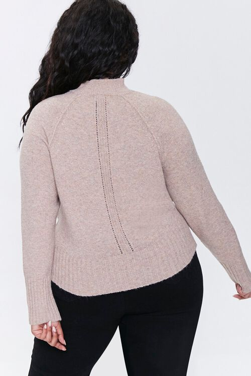 Plus Size Raglan Sweater, image 3