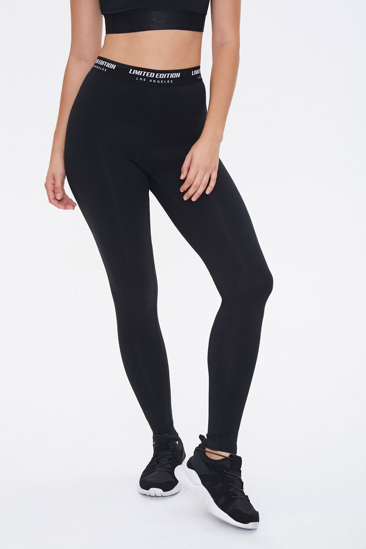 Forever 21 coupon: Active Limited Edition Leggings in Black Small