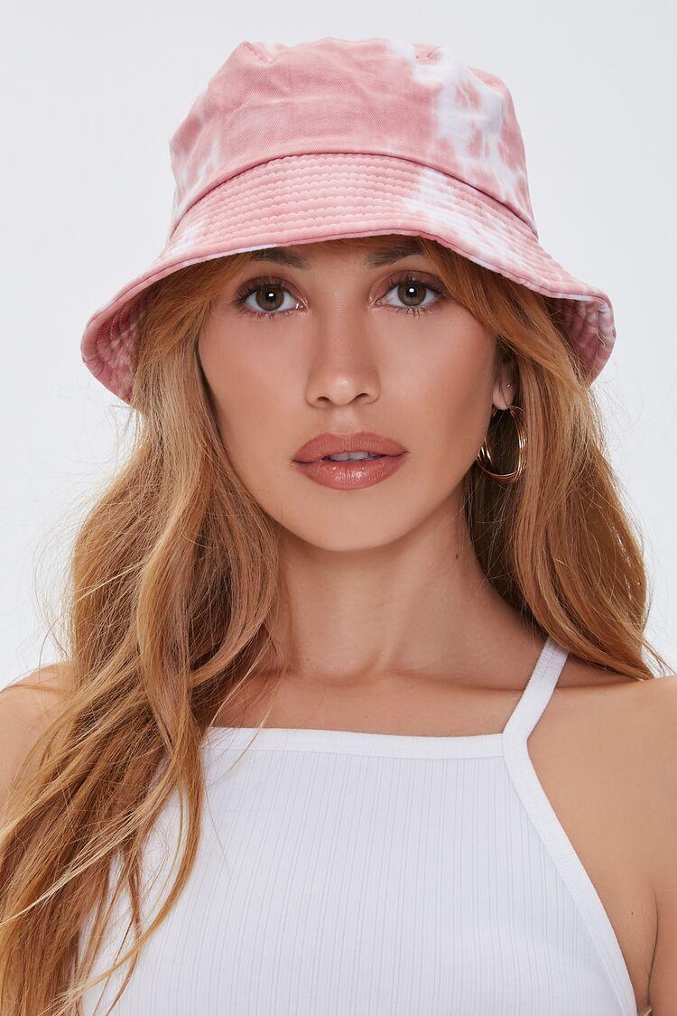 FORLADY Unisex Reversible Tie-Dye Pattern Bucket Hat Foldable Bush Bucket
